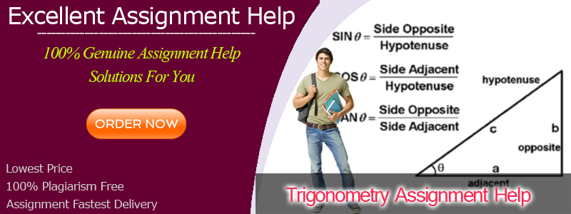 Trigonometry Assignment Help